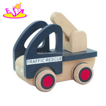 Top quality safe funny wooden toy car for kids,Mini wooden car toy for children,Small toy wooden model car for baby W04A100