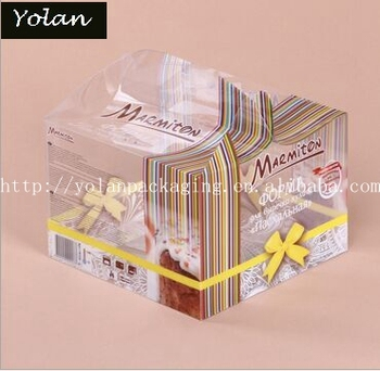 Transparent box packaging box High quality Plastic Clear PVC Cosmetic Box for packaging