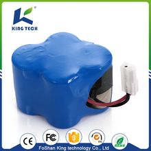 High Temperature 14.4V Nimh Ni Cd Pack 6V Rechargeable Ni-Cd Battery Packs for vacuum cleaner