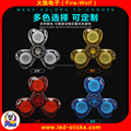 ON/OFF Switch Control Crystal LED Hand Spinner Adult Gift Toy Flashing Finger Spinner Manufacturer