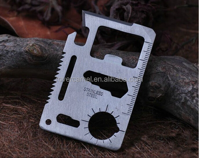 Blade Safety Mini Pocket Knife Tactical Rescue Camping Hunting Credit Card Knife Outdoor