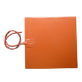 12V 300 x 300MM Silicone Rubber Heater For Kossel 3D Printer