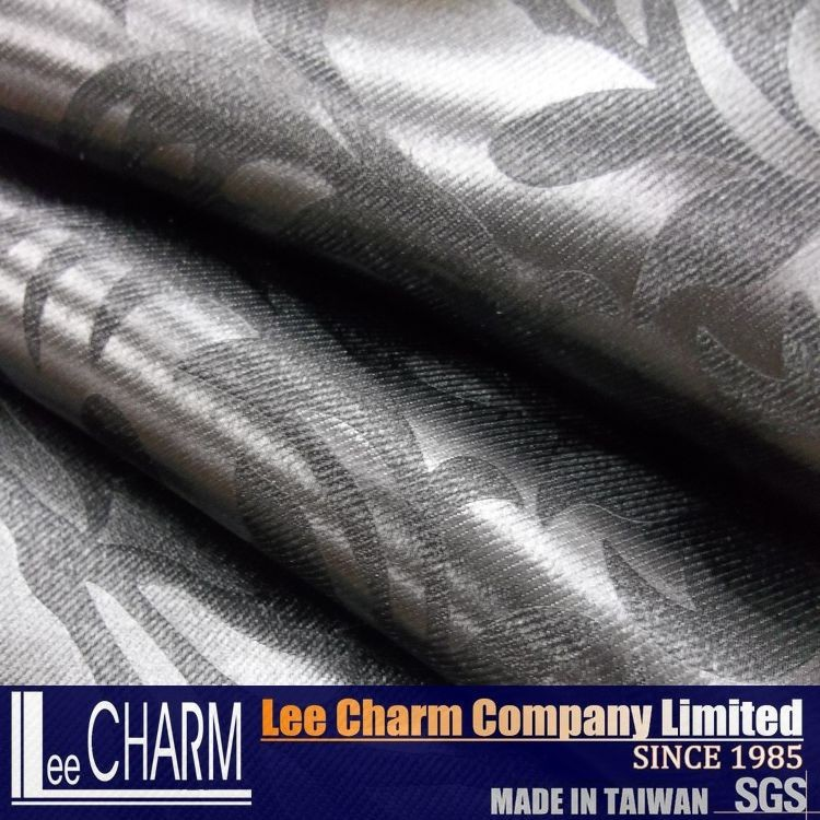 Home Textile Designs Embossed Blackout Curtain Fabric