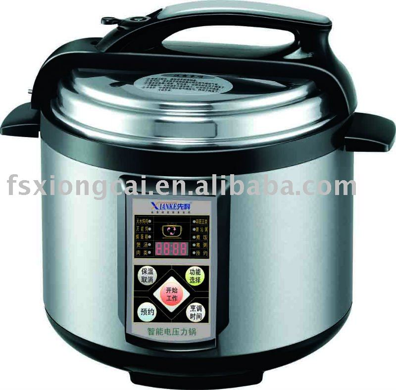 stainless steel electronic pressure rice cooker