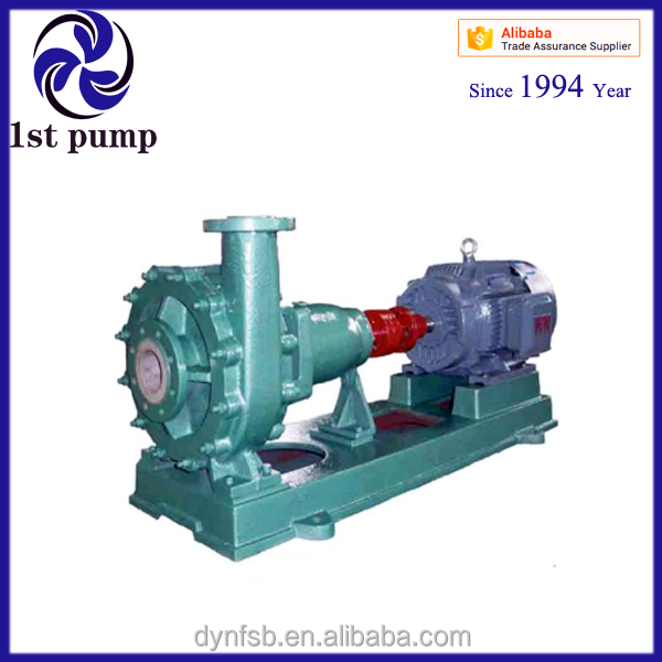 China Acid and Alkaline Solution Conveying Horizontal Centrifugal Pump Supplier