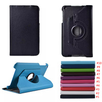 360 Rotating Stand Flip PU Leather Smart Tablet Cover Case For ASUS MeMO Pad 8 ME181C