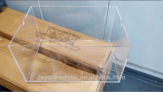 China transparent acrylic storage plastic box manufacturer