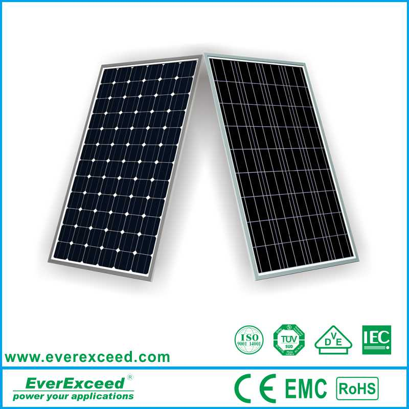 EverExceed Monocrystalline 125*125mm 10w small solar module with competitive price