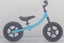 Manufacture of 12 inch kids balance bike / push bike no pedal for children / training bike