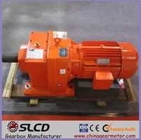 R series helical geared unit motors for agitator