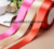 Various colors single face satin ribbon 100% polyester for gift