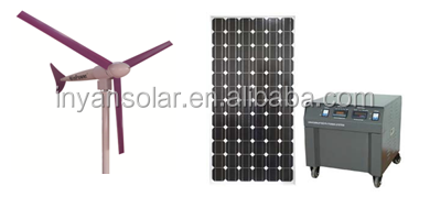 off grid hybrid solar wind power system for home use 1.5kw