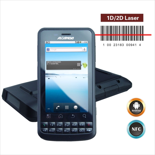 smartphone barcode scanner Android