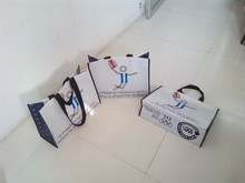 Event advertising rpet shopping bag