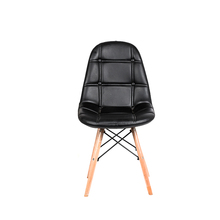TR-244 New design black Pu Comfortable dining chair for home