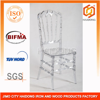Chinese manufacturer Gold Crystal Resin Royal Chair 3