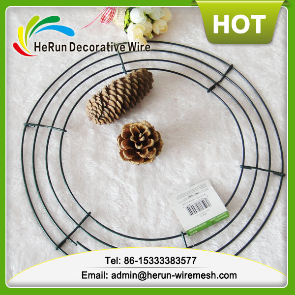 HR 4coils metal wire wreath form