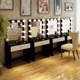 Vanity Table Set with Led Mirror Hollywood Lighted Makeup Mirror With Drawers For Bedroom