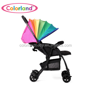 New colorful Baby Stroller Aluminum Alloy Lightweight classic Baby pram