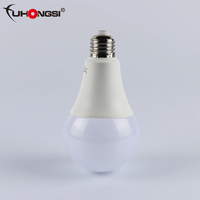 Hot sale high power fuhongsi Aluminum ODM model E27/b22 22Ov solar led light bulb w