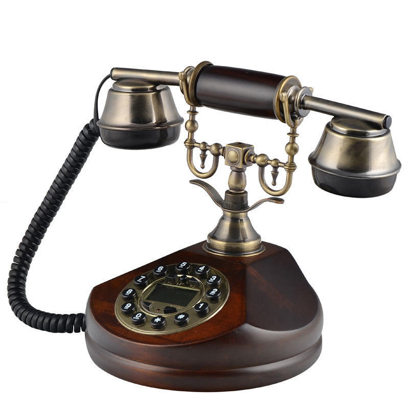 Vintage Phone Home Replica Antique Decorative Telephone For Promotion