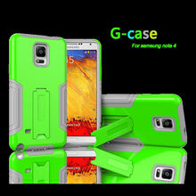 Durable Practical PC+ Silicone Waterproof Dustproof Shockproof Cell Phone Case for Samsung Note4