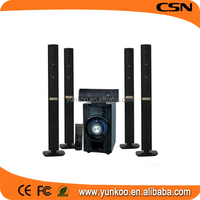 factory outlets wooden 5.1 home theatre sound speaker system