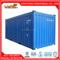 BV certified soft 20 feet open top ocean container