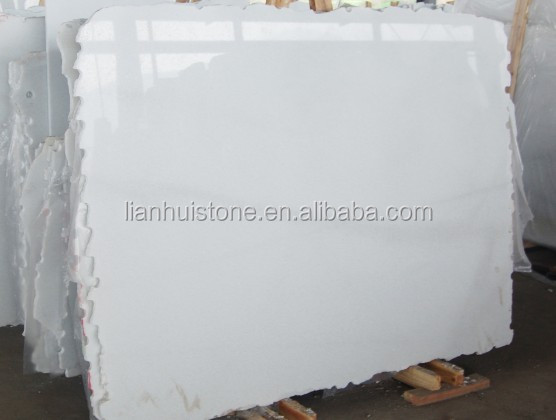 Chinese white thassos marble crystal white marble tile