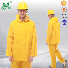 rain ponchos and raincoat cheap yellow pvc raincoat waterproof rain jacket