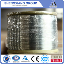 Direct factory eletro galvanized Economy hot dipped galvanized iron wire with best price (20 years' factory)