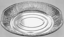 Christmas cooking tools large size and deep oval aluminum foil trays for turkey