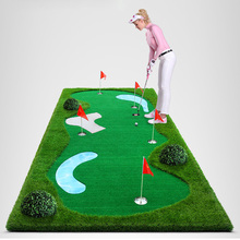Portable Mini Golf Course Golf Putting mat for office mini golf set