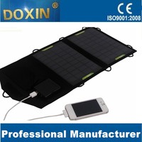 7W DOXIN solar power charger for camping
