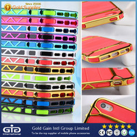 [GGIT] TPU+PC+Metal Plating Case for iPhone 5 (NP-1754)