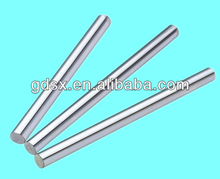 ISO9001:2008 passed China factory cnc auto lathe part precision chrome plated steel linear shaft,smooth optical axis