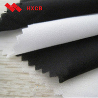 (8009)woven viscous soft thin fabric Woven Fusible interlining Fabric