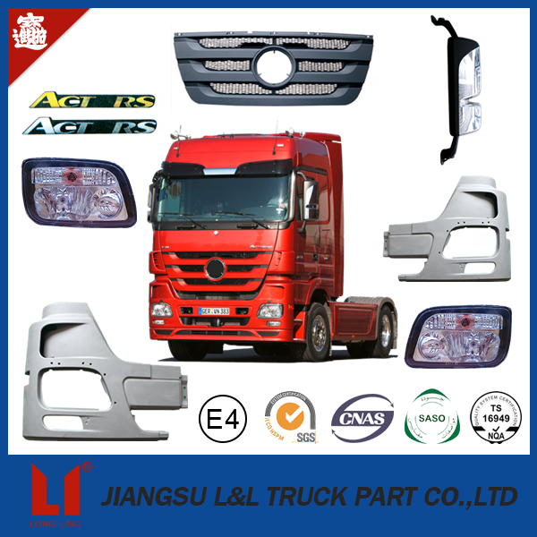 oem quality truck spare parts for mercedes benz cab/actros/axor/atego mp3