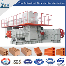 Brick production line machine metal clay sculpture