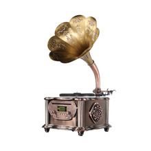 Pretty Art Ongeëvenaarde Multimedia Classicphonograph FM functionTurntable electronicmusic Homefurnishing draadloze <span class=keywords><strong>cd</strong></span>-speler <span class=keywords><strong>Speaker</strong></span>