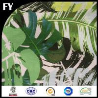 FY 2017 Custom Digital Print 100% Pure Cotton Canvas Denim Fabric