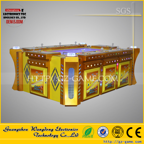 Commercial gambling arcade joystick shooting fish game, slot machine with cheap price