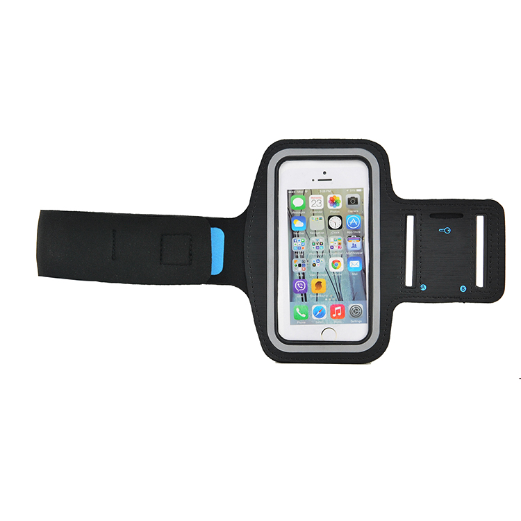Mobile Armband Case Cover Holder Gym Cycling Sport Reflective Safety ArmBand For iPhone 7