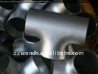 Butt weld Seamless Stainless Steel Pipe Equal Tee
