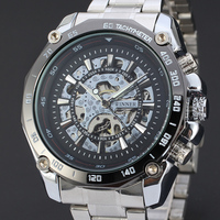 SY-WIN127 2016 alibaba china Fashion Winner Men Self-Wind Watches Men Luxury Brand Mechanical Watches brand winner watch