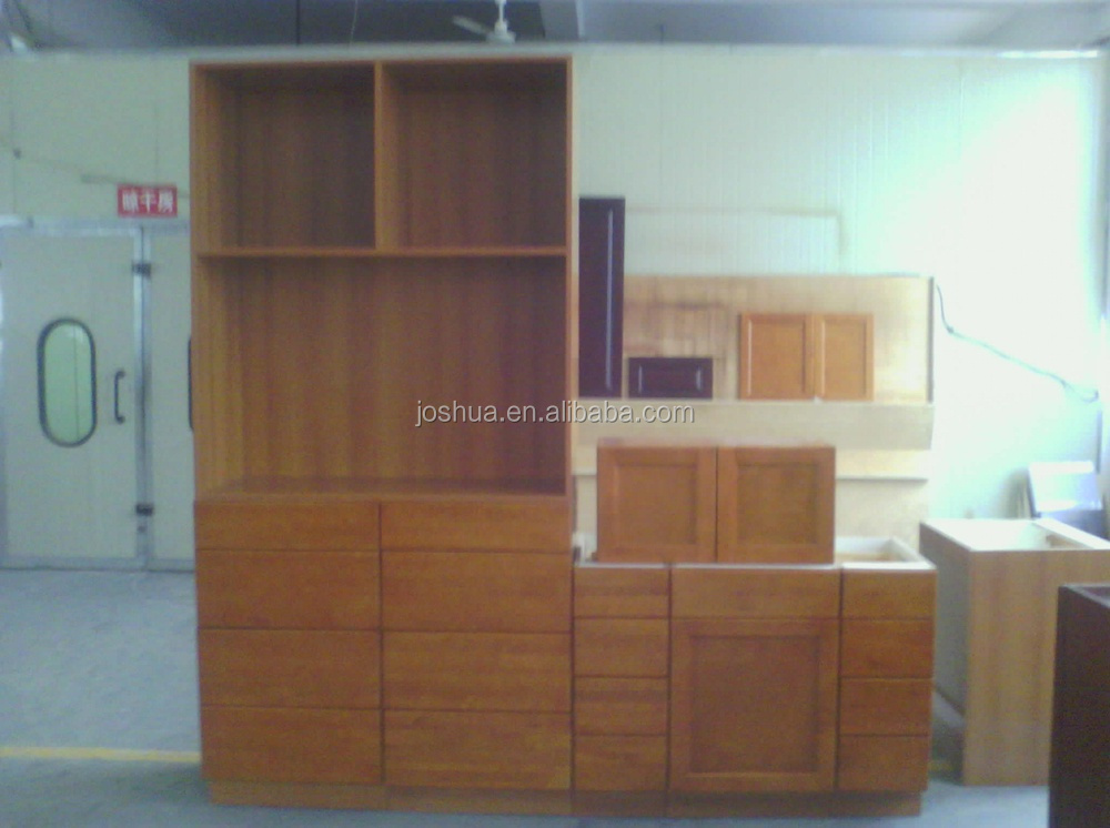 Commercial particle board plywood kitchen cabinet cheap for Budget kitchen cabinets ltd
