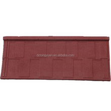 no fade 1340mm*420mm waterproof metal roof tiles / building materials for house stone coated roof tile / good metal
