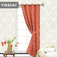 Luxury Villa Fancy Blackout Suppliers 2015 New Design Window Jacquard Curtains From China