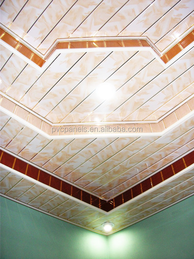 Pvc Ceiling Tiles : Roof pvc cladding mahogany