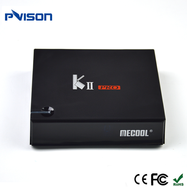 Hot High Quality Amlogic S912 Android 7.1 Dual WIFI 2.4G/5G Fta S912 KIII PRO TV Box DVB S2 T2 4K Satellite Receiver 3G 16G
